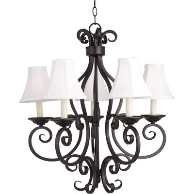 Manor 5-Light Shaded Chandelier