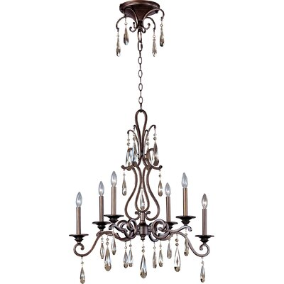 Chic 6-Light Candle-Style Chandelier
