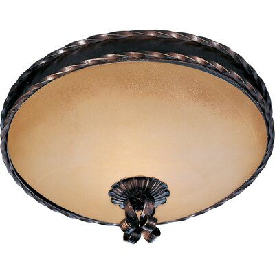 Aspen 3-Light Flush Mount