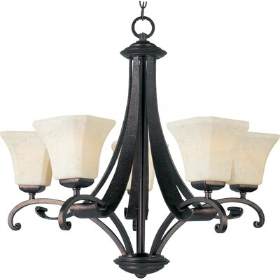 Oak Harbor 5-Light Shaded Chandelier