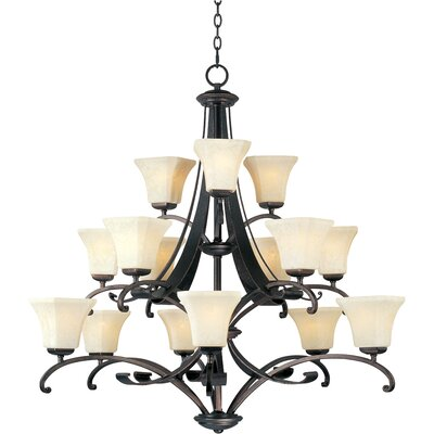 Oak Harbor 15-Light Shaded Chandelier