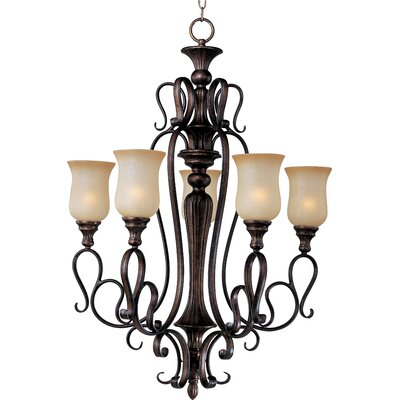 Wiltz 5-Light Shaded Chandelier
