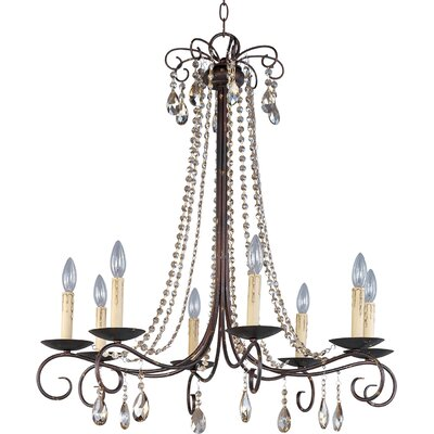 Adriana 8-Light Crystal Chandelier