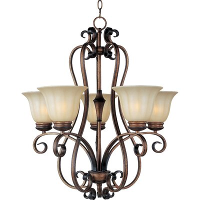 Windle 5-Light Shaded Chandelier