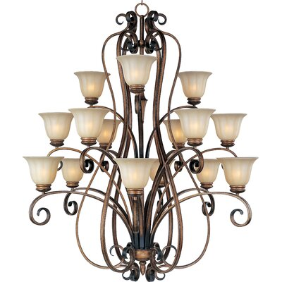 Windle 15-Light Shaded Chandelier