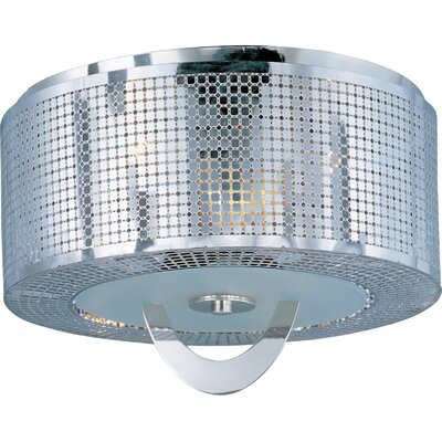 Mcclaskey 3-Light Flush Mount