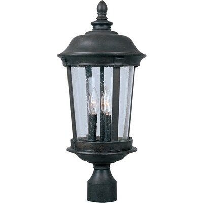 Wildon Home Dover DC 3 Light Outdoor Post Lantern - Size: Large at Sears.com