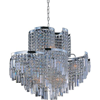 Belvedere 19-Light Crystal Pendant