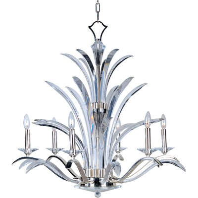 Paradise 6-Light Candle-Style Chandelier