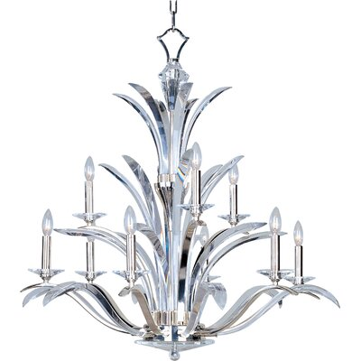 Paradise 9-Light Candle-Style Chandelier