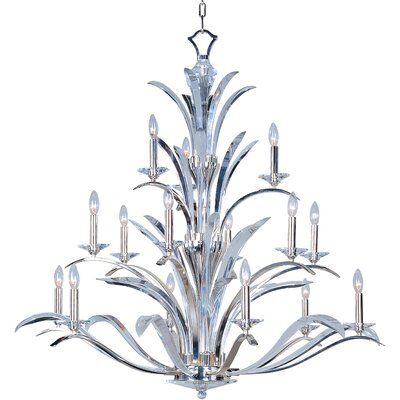 Paradise 15-Light Candle-Style Chandelier