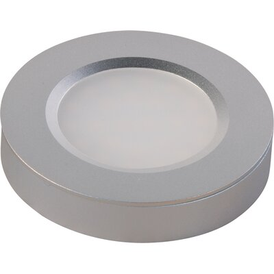 CounterMax MX-LD-R LED Under Cabinet Puck Light Finish: Brushed Aluminum