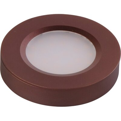 CounterMax MX-LD-R LED Under Cabinet Puck Light Finish: Anodized Bronze