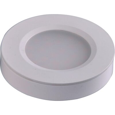 CounterMax MX-LD-R LED Under Cabinet Puck Light Finish: White