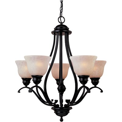 Winford 5-Light Shaded Chandelier