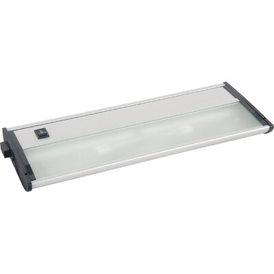 Countermax 13 Xenon Under Cabinet Bar Light Finish: Satin Aluminum