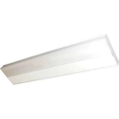 CounterMax MX-FD Fluorescent Under Cabinet Bar Light Size: Medium (1 H x 5 W x 21 L)