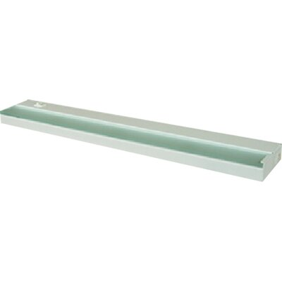 Undercabinet Light in White Finish: White, Size: Small
