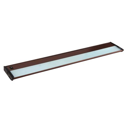 CounterMax MX-X120 30 Xenon Under Cabinet Bar Light Finish: Metalic Bronze