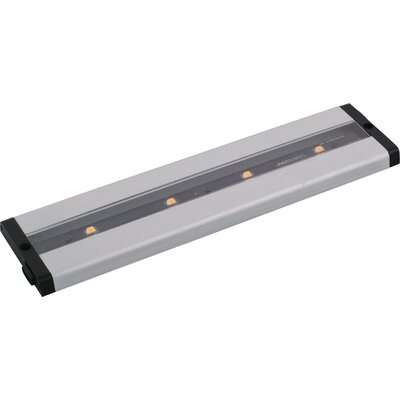 CounterMax MX-L-LPC 12 LED Under Cabinet Bar Light Finish: Brushed Aluminum