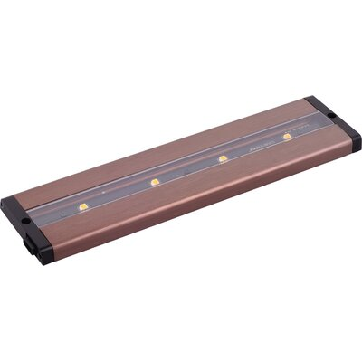 CounterMax MX-L-LPC 12 LED Under Cabinet Bar Light Finish: Anodized Bronze