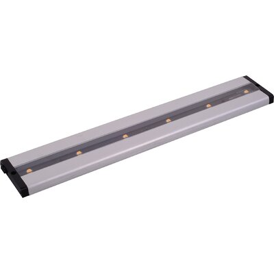 CounterMax MX-L-LPC 18 LED Under Cabinet Bar Light Finish: Brushed Aluminum