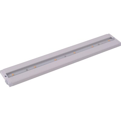 CounterMax MX-L-LPC 18 LED Under Cabinet Bar Light Finish: White