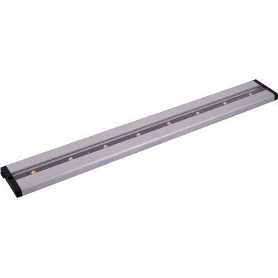 CounterMax MX-L-LPC 24 LED Under Cabinet Bar Light Finish: Brushed Aluminum