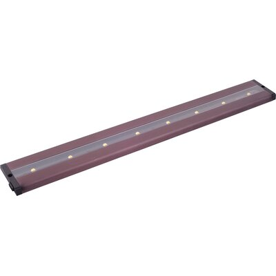 CounterMax MX-L-LPC 24 LED Under Cabinet Bar Light Finish: Anodized Bronze