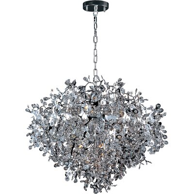 Leonia 13-Light Crystal Pendant