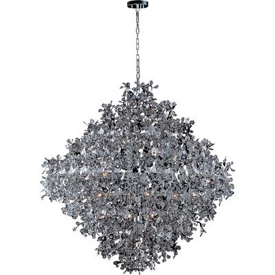 Leonia 21-Light Crystal Pendant