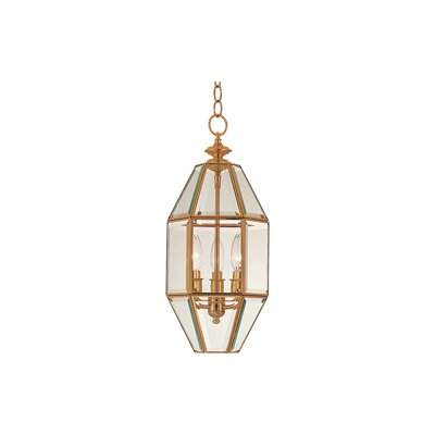 Bound Glass 3 Light Foyer Pendant