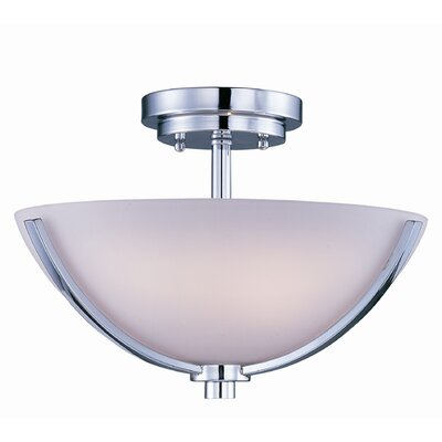 Barys 3-Light Semi-Flush Finish: Polished Chrome