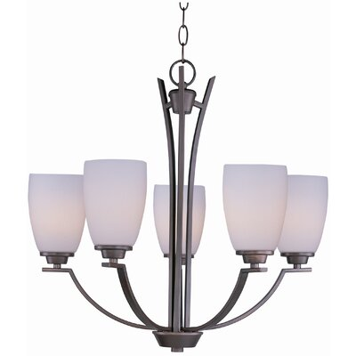 Rocco 5-Light Shaded Chandelier Finish: Oil Rubbed Bronze