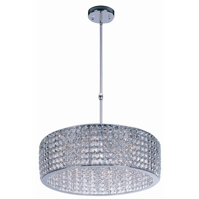 Shania 12-Light Drum Pendant