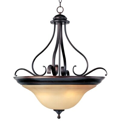 Linda EE 4-Light Invert Bowl Pendant