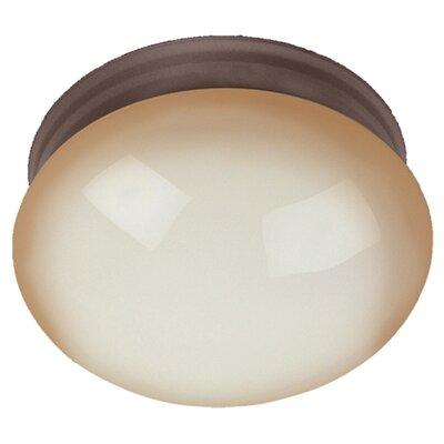 Essentials 1-Light Flush Mount Size: 5 H x 9 W