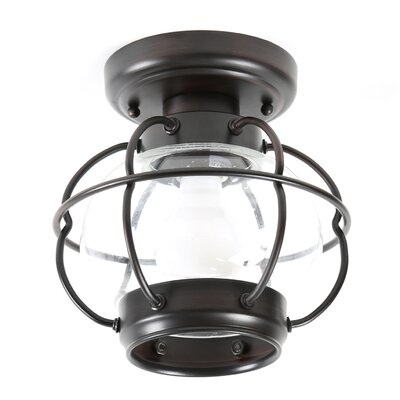 Easton 1-Light Flush Mount
