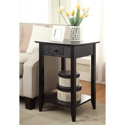 Greenspan End Table Finish: Black