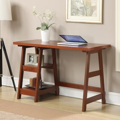 Trestle Writing Desk Finish: Cherry