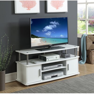 Nova Traditional 47.3 TV Stand Color: White