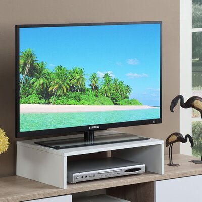 Ivanna 23.5 TV Stand Color: White