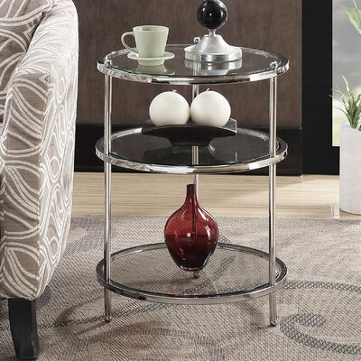 Tressie Round End Table