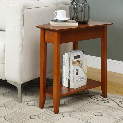 Williams Wedge End Table Finish: Cherry