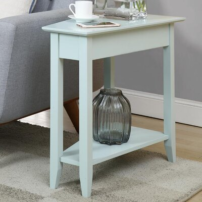 Williams Wedge End Table Finish: Sea Foam
