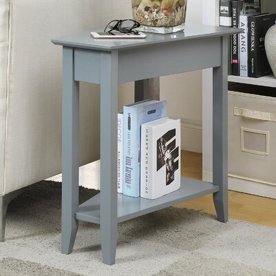 Randel Wedge End Table Color: Gray