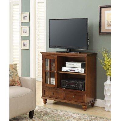 Schererville 36 TV Stand Color: Dark Walnut