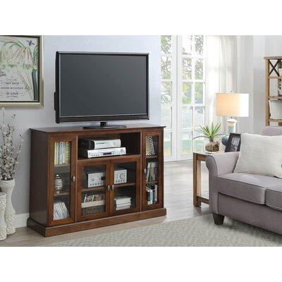 Farmersville 52 TV Stand Color: Dark Walnut
