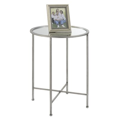Wiscasset Mirrored End Table