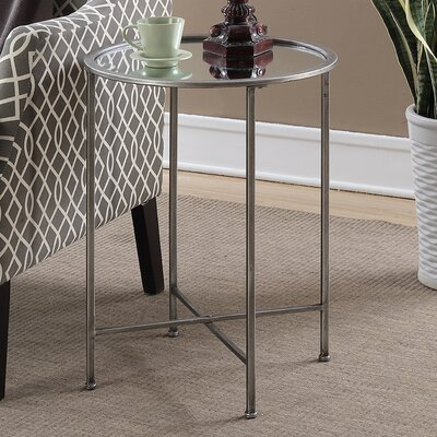 Royall End Table Finish: Silver